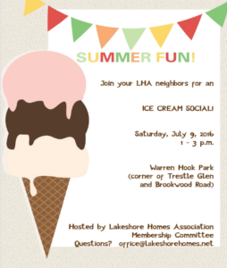 Cluster Captain update 0627 ice cream social